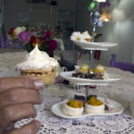 High Tea at Ducks in the Field, Duckenfield