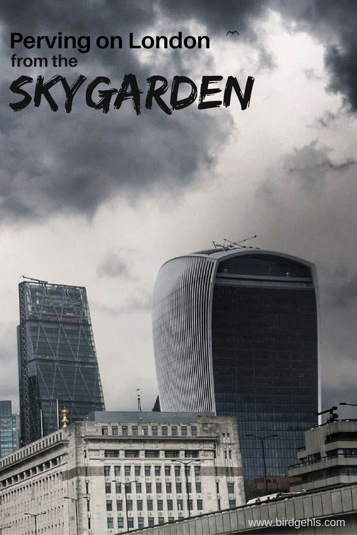 The Sky Garden website promotes itself as offering