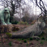 Walking With Dinosaurs at Crystal Palace Park in London