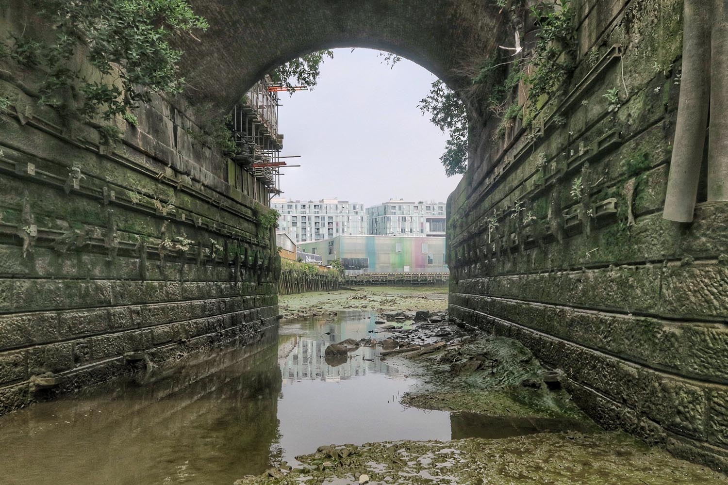 Twice a month, the Creekside Education Fund open their doors to those interested in exploring Deptford Creek during low tide, in all its muddy glory.