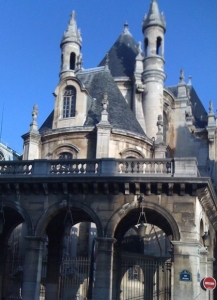 It's this kind of building that makes Paris simply wonderful.