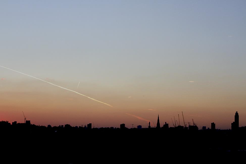 peckham's rooftop view