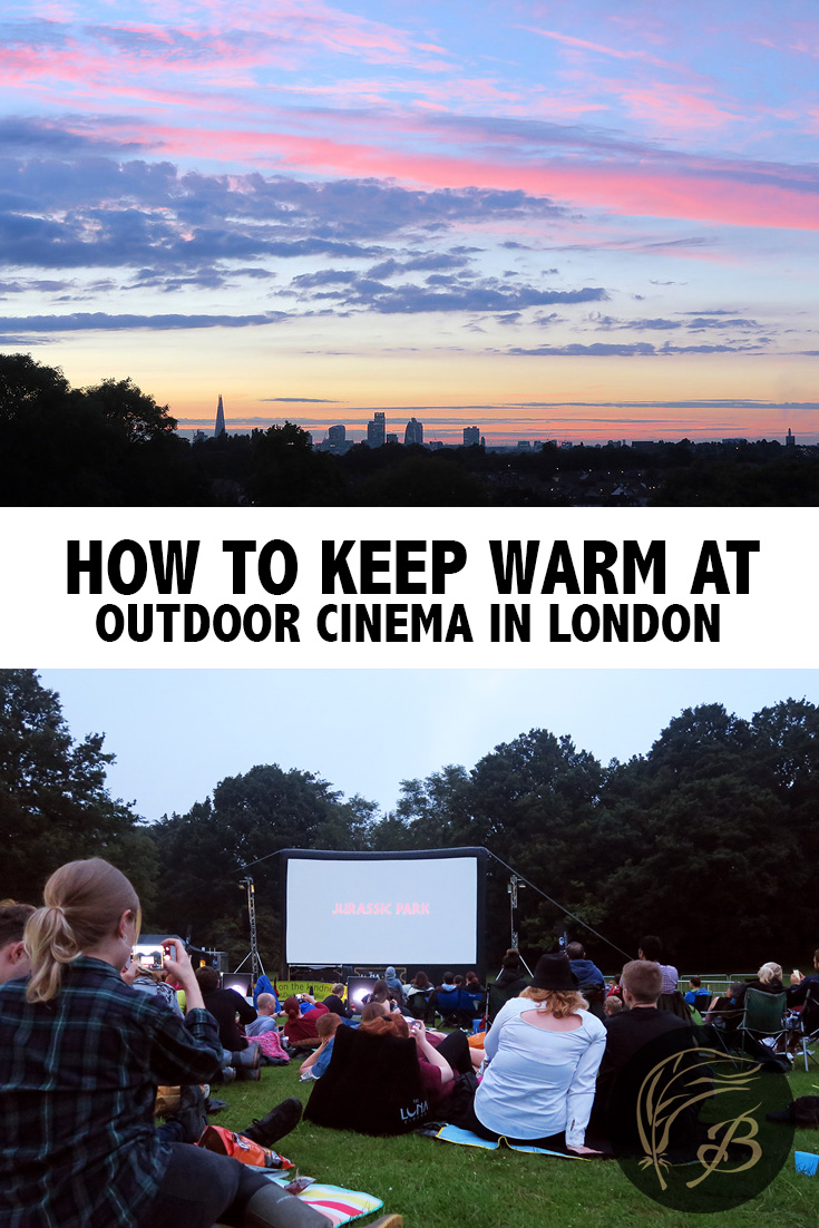 Just because it's summer in the UK, doesn't necessarily mean it's going to be warm. Here are some tips for your outdoor cinema experience in London.