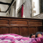 Champing in the UK: Spending the Night in a 900 Year Old Church