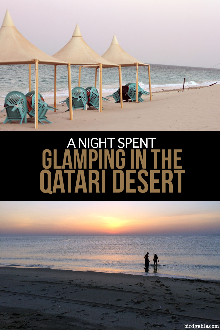 You know when you have those nights that you just don't want to end? That's what my night spent #glamping in the #Qatari desert was like. #Qatar #Doha #camping