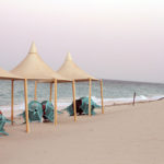 Glamping in the Qatari Desert