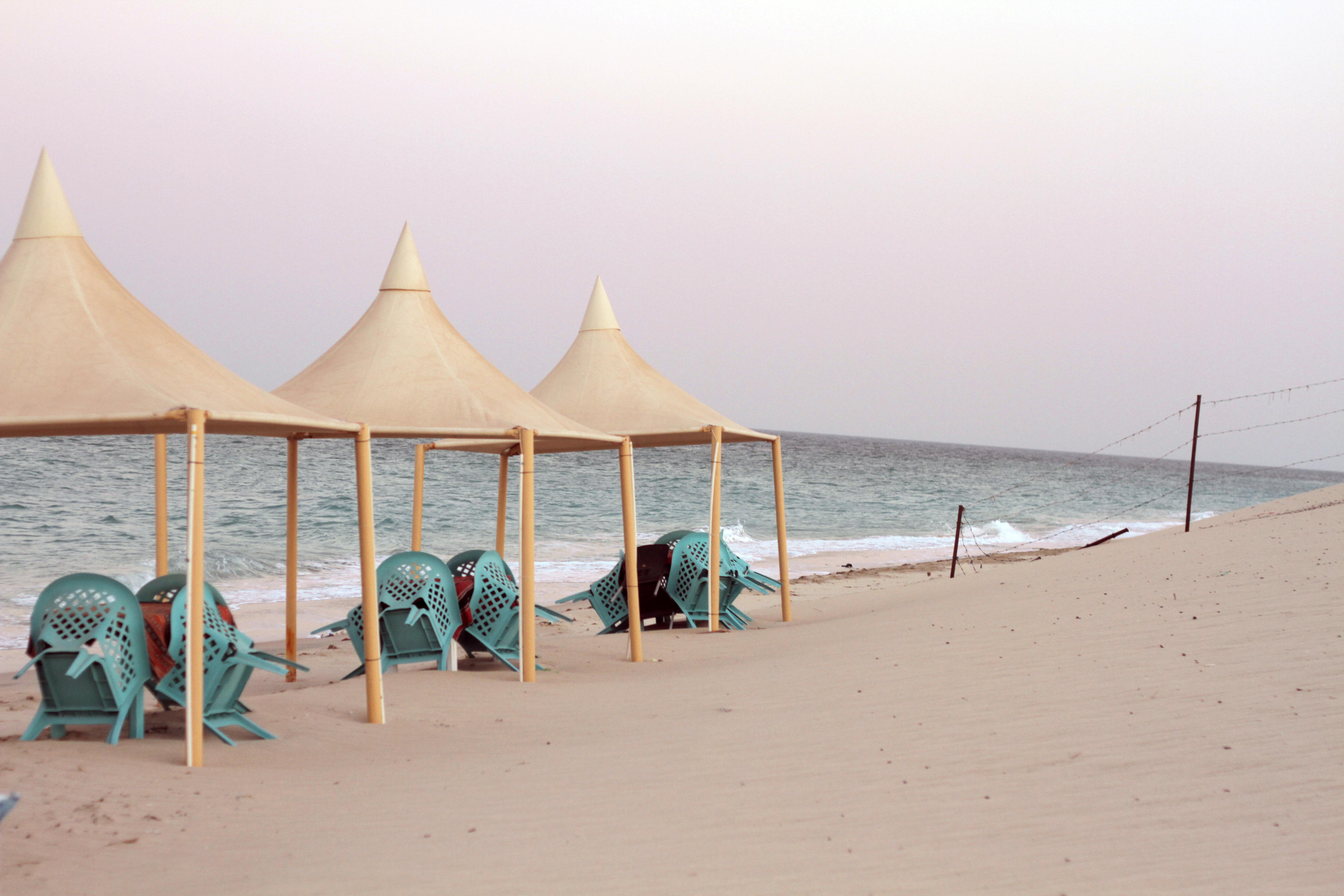 camping in qatar desert