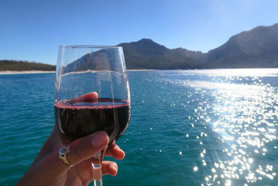Wine Not? Taking a Wineglass Bay Cruise in Tasmania