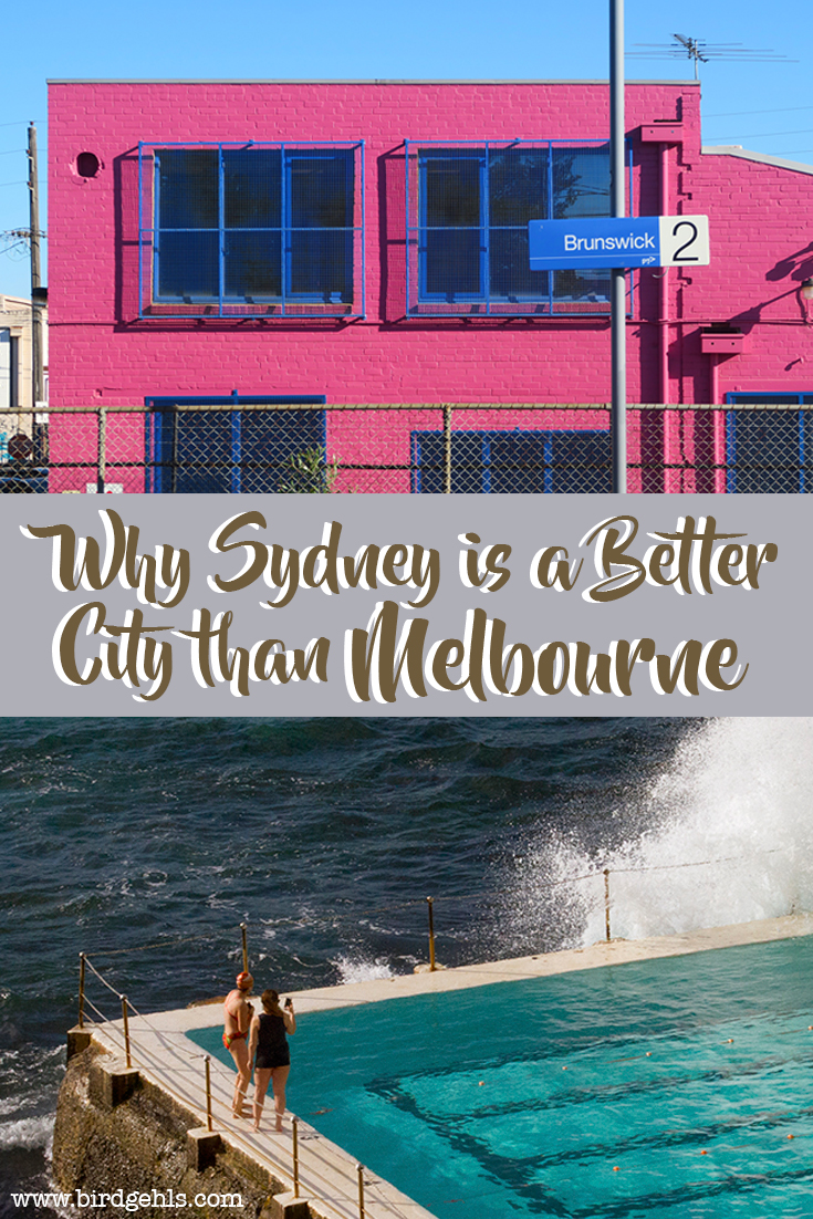 Australia's two biggest cities have an ongoing rivalry. However - the beaches, the brunch, the lifestyle, the weather are just a few of the reasons why Sydney is a better city than Melbourne.