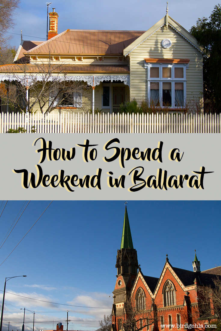 Here's what to do in Ballarat, Australia if you're in the beautiful regional city over a weekend and don't have to keep any children occupied.