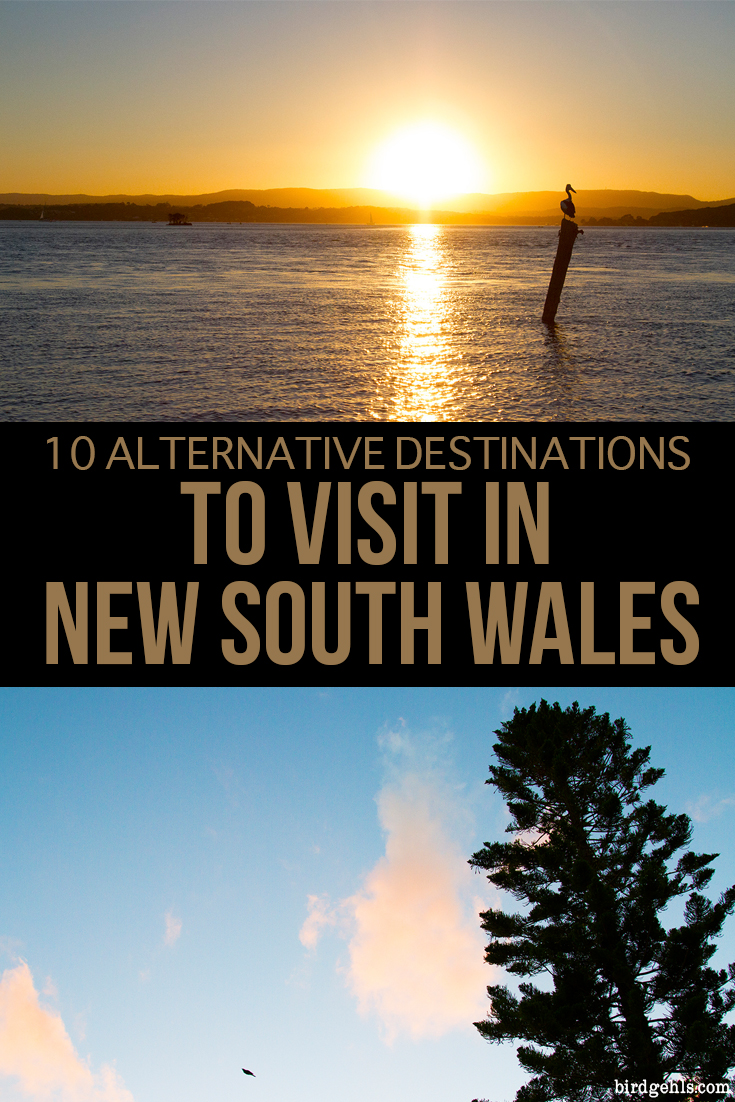 Looking to get a bit off the beaten track in New South Wales, #Australia (or in some cases, the East Coast entirely)? Here are a few alternative destinations worth visiting, such as Orange, Dubbo, Lake Macquarie and Tamworth.