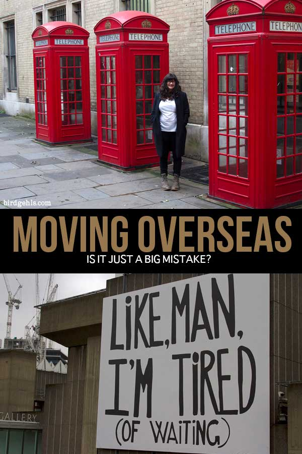 Moving overseas and living as an #expat - is it a smaxrt move, or a big mistake? This is a personal post which explores the repercussions of moving overseas and ultimately, whether they benefit an individual in the long run. The choice however, is yours alone to make. / Expat Life / Tips for Moving Overseas / Should You Move Overseas? /