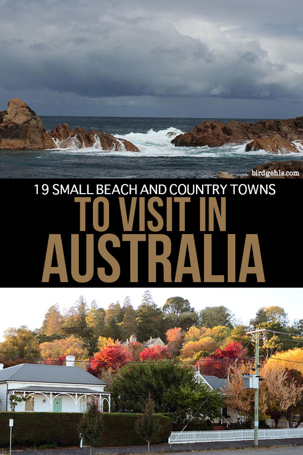 Want to get off the beaten path in Oz? Put any of these small towns in #Australia straight onto your itinerary and experience the country from a local's point of view. Here's a collection of some of the best beach and country towns in Australia, categorised state by state. / Australia Travel Tips / Beach Towns / Country Towns / #TravelTips / #AustralianTravelTips /