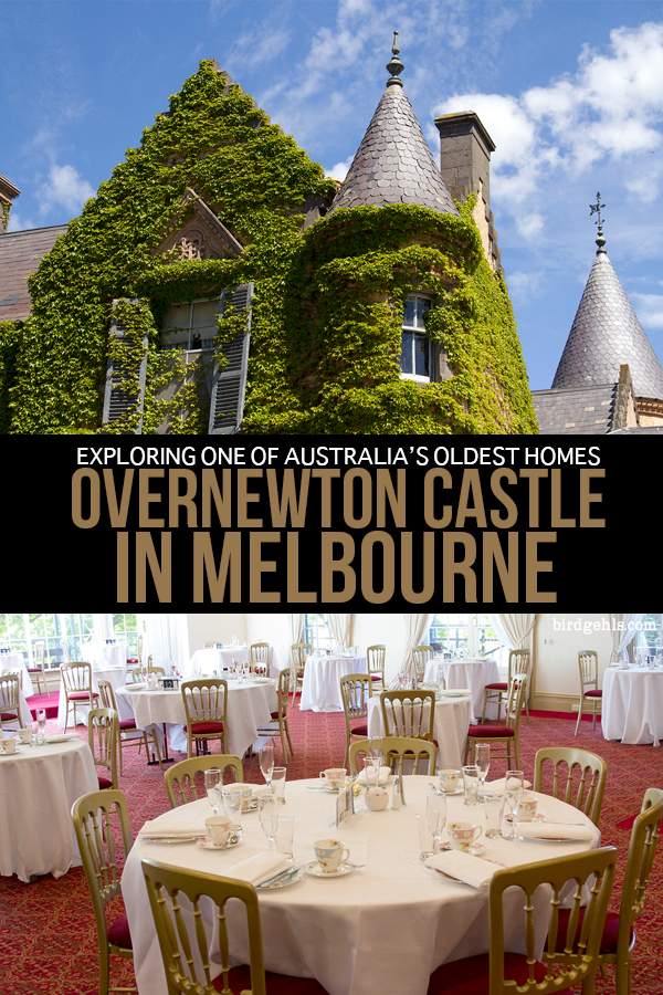 Did you know that #Australia has castles too?! Overnewton Castle opens to the public for High Tea and tours once a month, with other events held throughout the year. Come check out a piece of Victorian history on your next trip to #Melbourne. / Things to Do in Melbourne / High Tea in Australia /