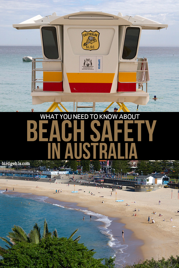 Aussie beaches are beautiful, but deadly. Here are some tips for beach safety in Australia, such as advice for rip currents, what certain coloured flags mean and dealing with the sting of a bluebottle.